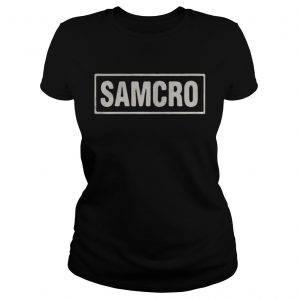 Official Sons of anarchy Samcro shirt Classic Ladies Tee