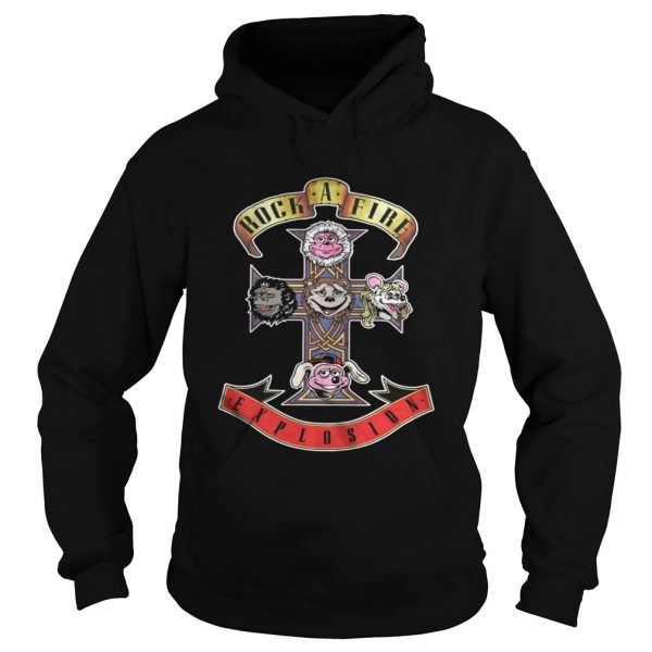 Appetite Rock Afire Explosion Shirt Hoodie