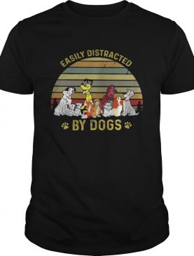 Easily Distracted By Dog Shirt