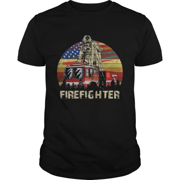 Firefighter Vintage Shirt Shirt