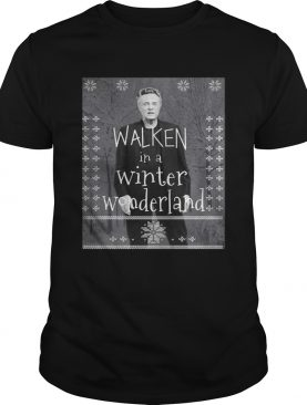 Walken in a winter wonderland shirt