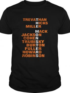 The MonstersTrevathan Hicks Miller Mack Jackson Cohen shirt