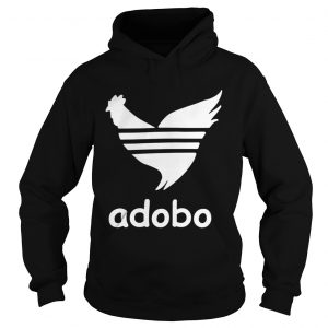 Chicken adidas adobo shirt Ladies V-Neck
