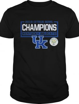 2019 citrus bowl champions kentucky wildcats UK shirt