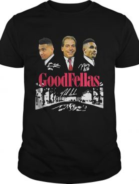 Goodfellas Tua Tagovailoa Nick Saban Jalen Hurts Roll Tide shirt