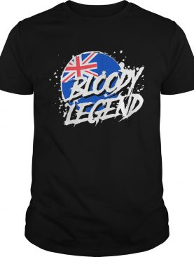 Australia flag Bloody Legends shirt
