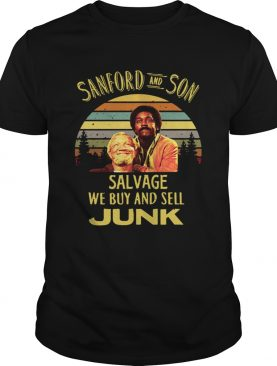 Vintage Sanford and Son Salvage we buy and sell Junk shirt