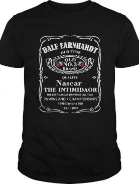 Dale Earnhardt old time Old No 3 Brand quality Nascar the Intimidaor shirt