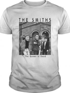 Official The Smiths the queen is dead shirt