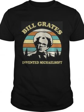 Check It Out Dr. Steve Brule Bill Grates invented michaelsoft retro shirt
