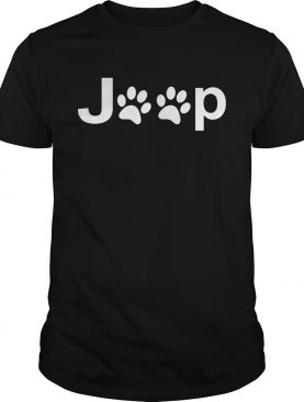 Dog paws jeep shirt