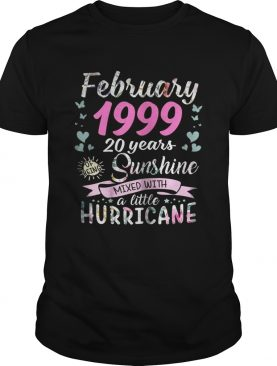 March 1999 20 years sunshine mixed with a little hurricane shirt
