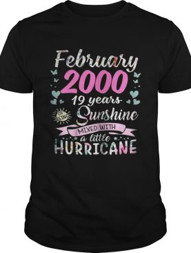 March 2000 19 years sunshine mixed with a little hurricane shirt