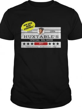 Now with more Rohypnol Est. 1984 Huxtable's shirt