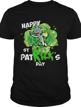 Rick happy St Patrick's day shirt