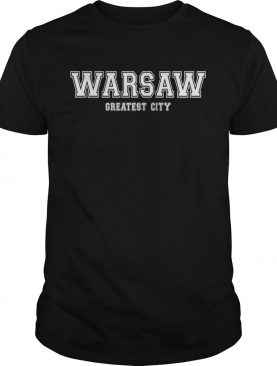 WARSAW CAPITAL CITY Poland Gifts Shirts