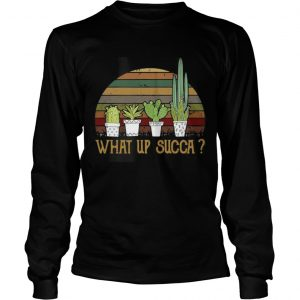 What up succa vintage Longsleeve shirt