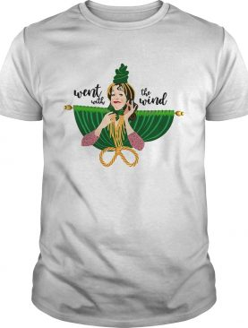 Carol Burnett as Miss Starlett in Went with the wind shirt