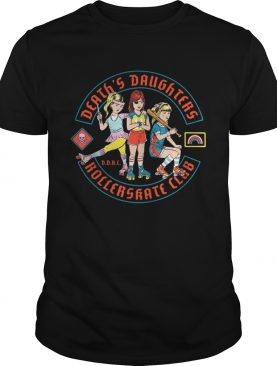 Death's Daughter Roller Skate Club shirt
