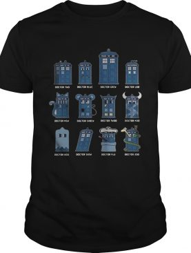 Doctor two Doctor blue doctor grew Doctor loo Doctor mew shirt