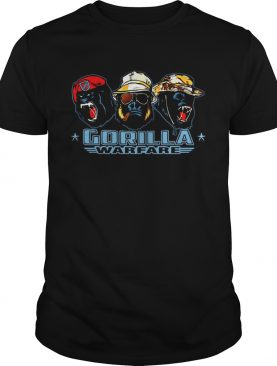 Gorilla warfare kid shirt