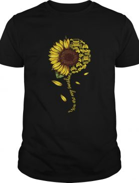 Jeeps sunflower you are my sunshine shirt