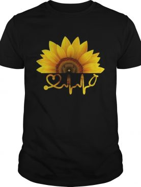 Sunflower nurse shirt