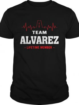Team Alvarez lifetime member shirt