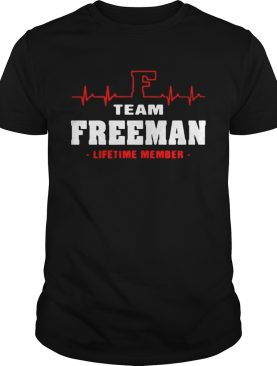 Team Freeman lifetime member shirt