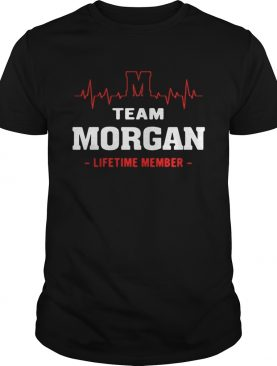 Team Morgan lifetime member shirt
