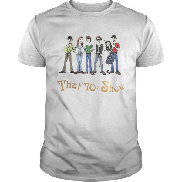 That 70s Show Quizzes Character Guy shirt