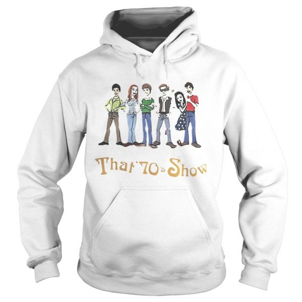 That 70s Show Quizzes Character Hoodie shirt