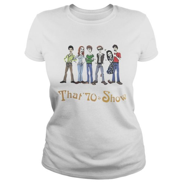 That 70s Show Quizzes Character Ladies shirt