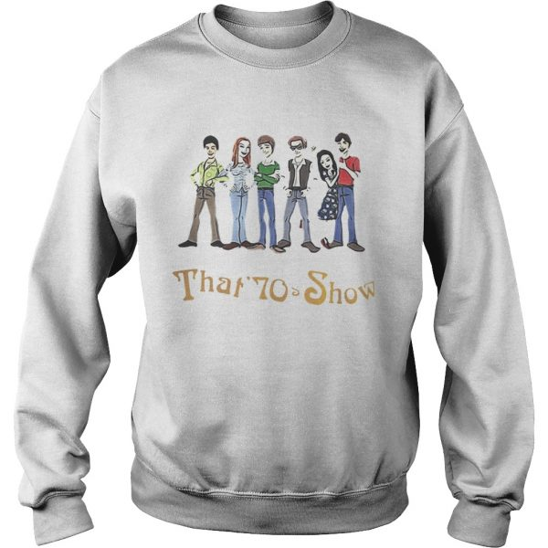 That 70s Show Quizzes Character Sweat shirt