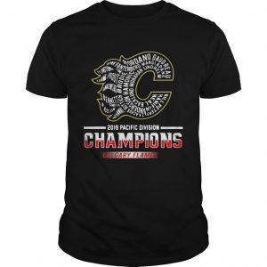 2019 Pacific division champions Calgary Flames Unisex shirt