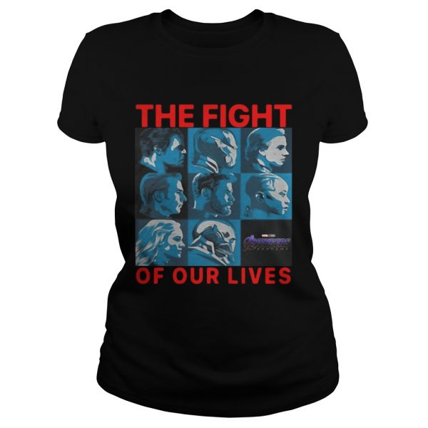 Avengers Endgame The Fight For Our Lives Ladies Shirt