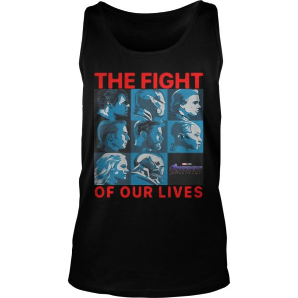 Avengers Endgame The Fight For Our Lives Tank Top Shirt