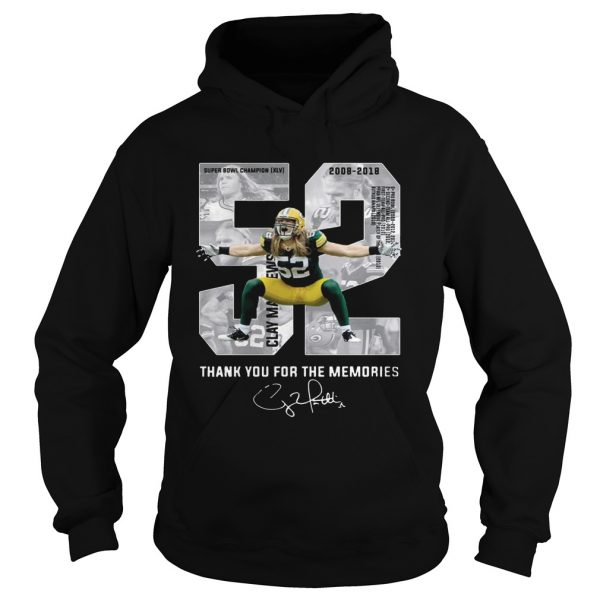 Clay Matthews Iii Thank You For The Memories Hoodie TShirt