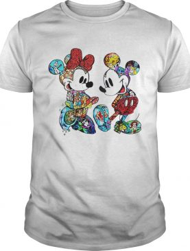 Disney Mickey Mouse and Minnie tshirt
