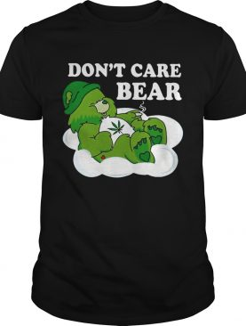 Don't Care Bear Weed tshirt