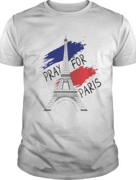 Eiffel Tower pray for Paris tshirt