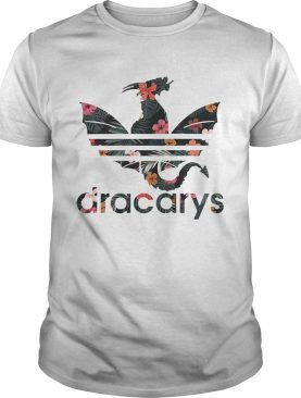 Flower Dracarys Adidas Dragon Game Of Thrones tshirt