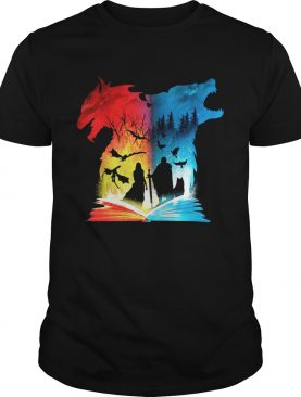 Game Of Thrones Book of fire and ice tshirt