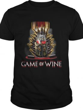 Game of Thrones Game of wine tshirt