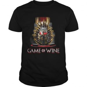 Game of Thrones Game of wine Unisex shirt