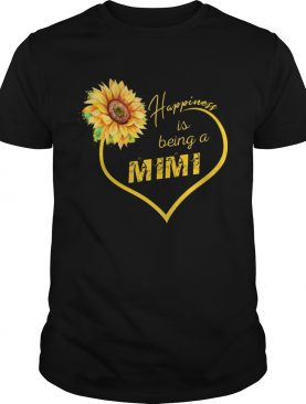 Happiness Is Being A Mimi Sunflower Tshirt