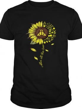 Harry Potter sunflower after all this time tshirt