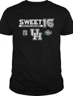 Houston Cougars 2019 NCAA Basketball Tournament March Madness Sweet 16 tshirt