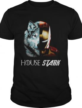 Ironman GOT House Stark tshirt