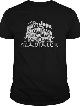 Jeep Toledo Ohio Gladiator tshirt